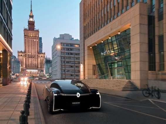 Renault zaprezentował samochód przyszłości w Warszawie