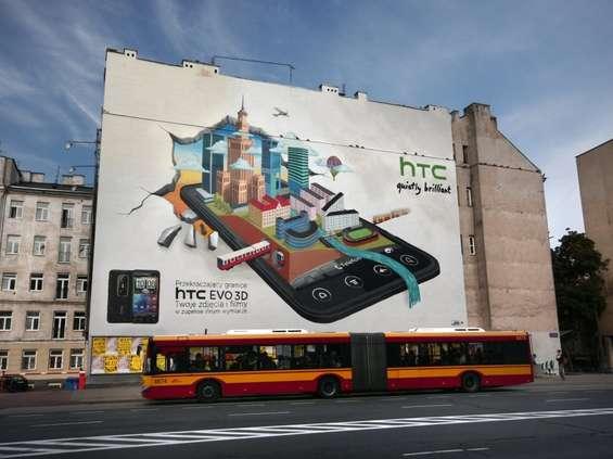 Mural podnosi prestiż reklamowanego produktu