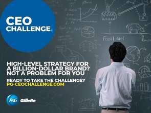P&G rekrutuje - konkurs CEO Challenge