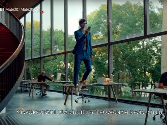 Huawei silnie wspiera flagowy model Mate 20 [wideo]