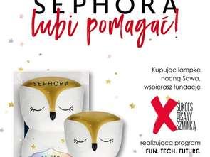 Sephora wspiera projekt Fundacji Sukcesu Pisanego Szminką