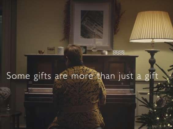 Elton John w kampanii John Lewis