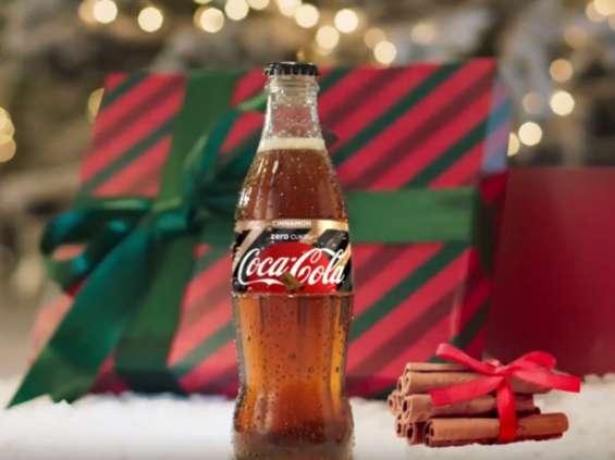 Coca-Cola na święta proponuje wariant cynamonowy