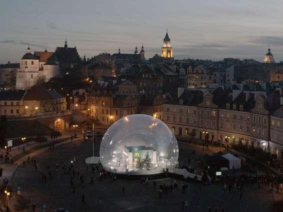 McDonald's niestandardowo promuje się w Lublinie