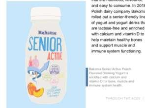 Badacze Mintela uznali markę Bakoma Senior Active za wyznaczającą trend