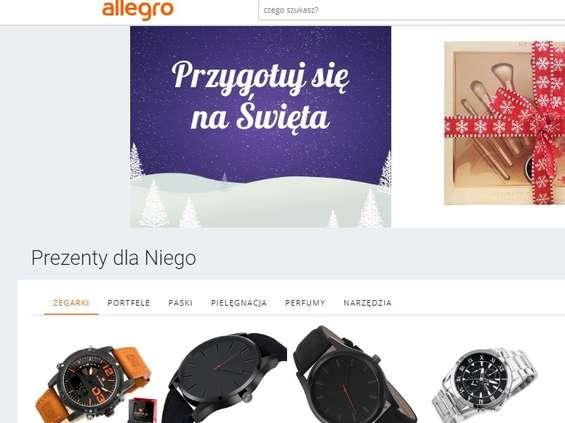 10 grudnia - szczyt przedświątecznych zakupów na Allegro