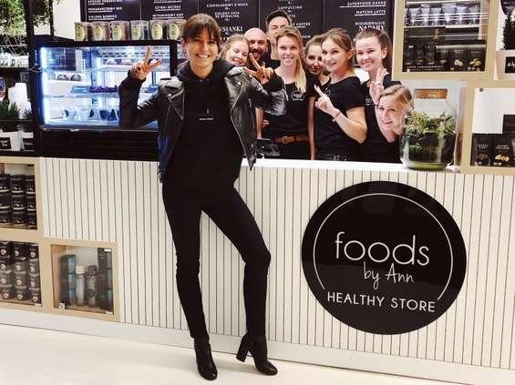 Anna Lewandowska tworzy sieć sklepów
