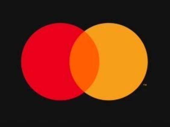 Mastercard - sam symbol, bez nazwy