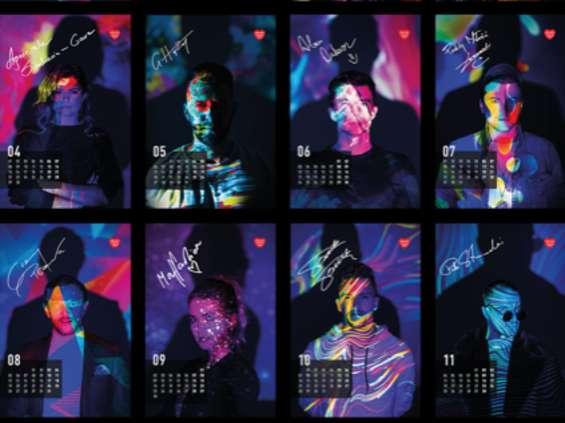 Kamikaze przygotowała kalendarz dla WOŚP