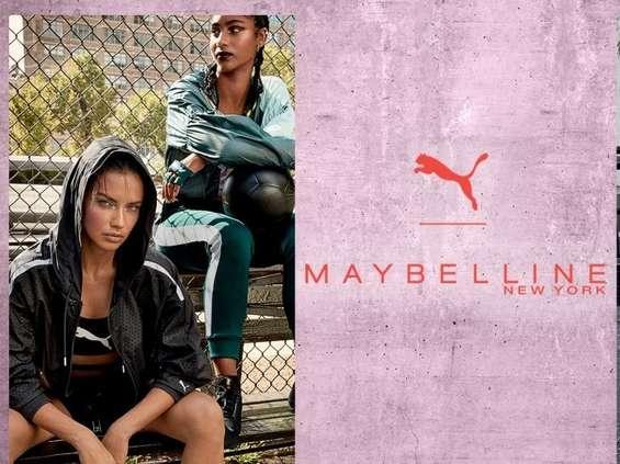 Puma x Maybelline - wspólna kolekcja marek