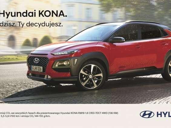 Hyundai reklamuje Konę [wideo]