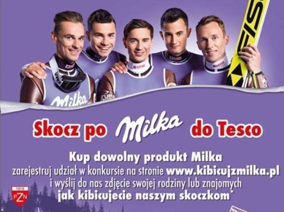 Milka organizuje konkurs w Tesco