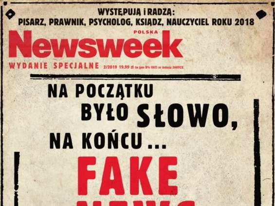 """Ukazał się magazyn Newsweek """"Fake News"""""""