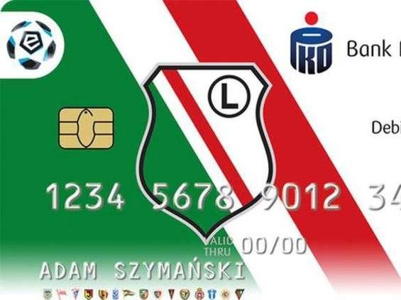 W PKO BP będzie można mieć kartę płatniczą z logo swojego klubu