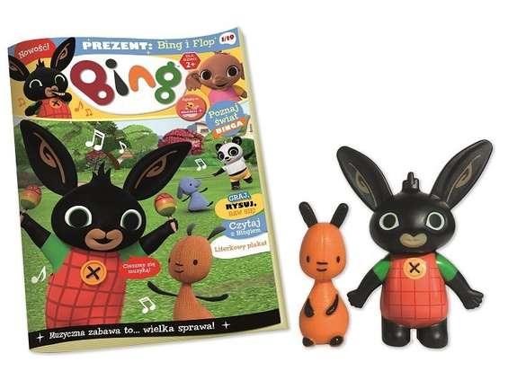 """Nowy dwumiesięcznik dla dzieci """"Bing"""""""