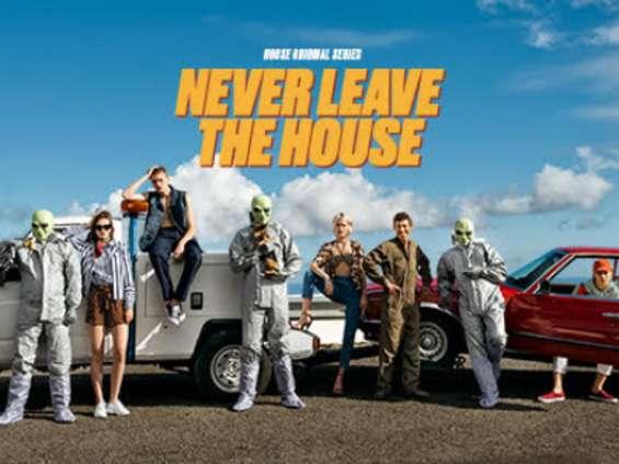 House z kampanią w stylu serialu retro