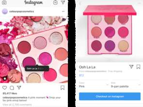 Instagram zaprasza na zakupy