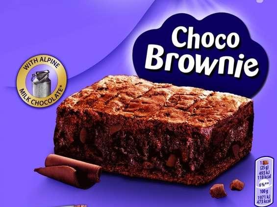 Mondelez reklamuje nowość - Milka Choco Brownie