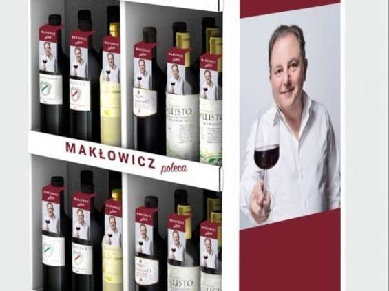 """""""Makłowicz poleca"""" wina w Biedronce"""