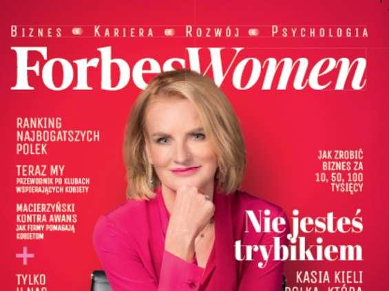 """Dziś pierwszy numer """"Forbes Women"""" w Polsce"""
