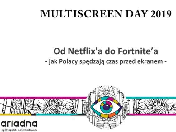 """""""Od Netflixa do Fortnite'a"""" - wyniki badania """"MMP"""" i panelu Ariadna"""