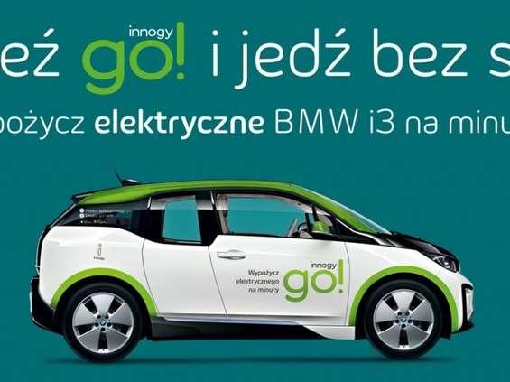 Innogy oferuje warszawiakom samochody elektryczne na minuty [wideo]