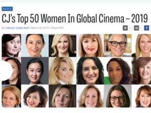 Katarzyna Borkowska w gronie najbardziej wpływowych kobiet branży kinowej na świecie