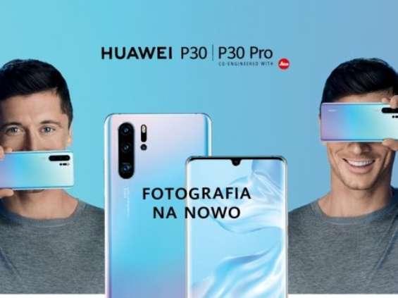 Huawei P30 sprzedaje się lepiej niż poprzednik