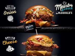 Nowe burgery Maestro w McDonald's
