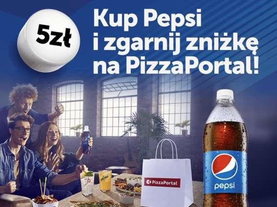 Promocja konsumencka Pepsi i PizzaPortal.pl