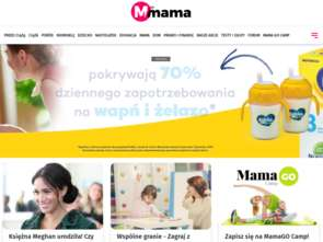 "Nowa strona internetowa ""M jak Mama"""