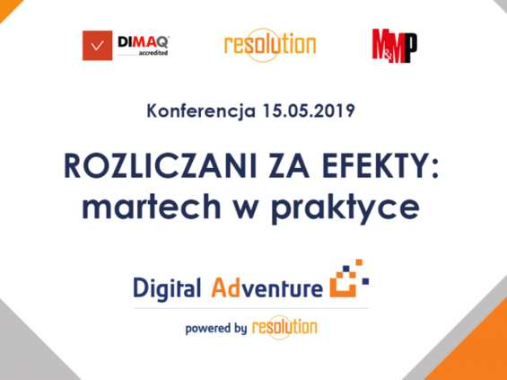 Konferencja Digital Adventure 15 maja
