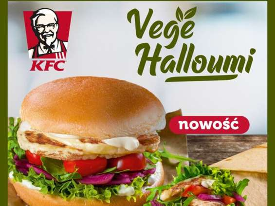 KFC oferuje wegetariańskie burgery