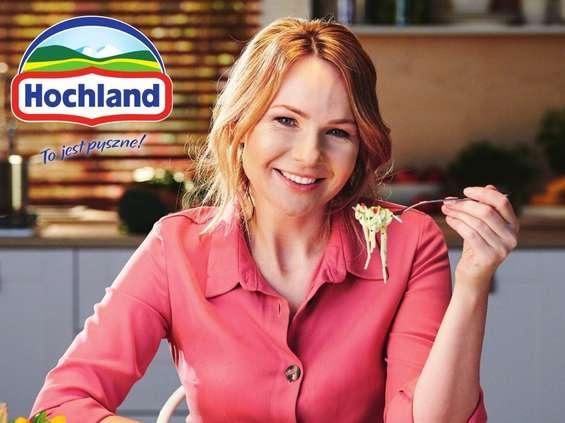 Anna Guzik w kampanii serów kremowych Hochland