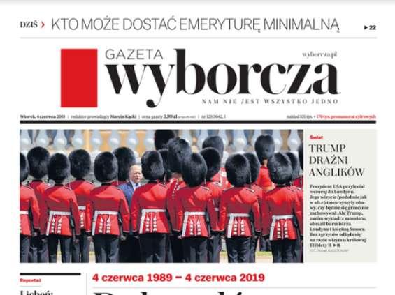 """""""Gazeta Wyborcza"""" z nową makietą na 30-lecie"""