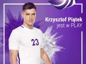 Krzysztof Piątek nową twarzą Play
