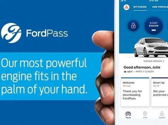 Ford reklamuje aplikację FordPass i korzyści z programu lojalnościowego