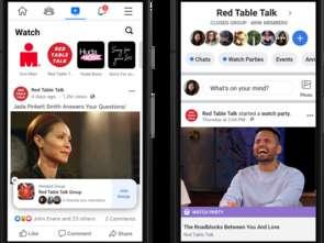 720 mln osób miesięcznie korzysta z Facebook Watch