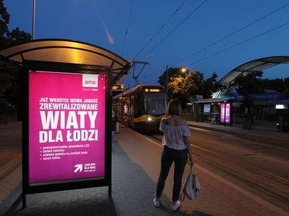 AMS rewitalizuje wiaty przystankowe w Łodzi