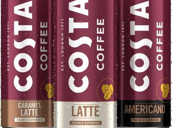 Costa Coffee zaoferuje kawę w puszkach