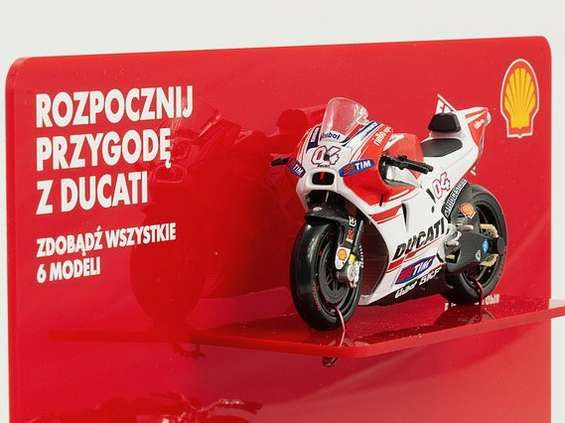 """Shell zachęca, by """"rozpocząć przygodę z Ducati"""""""