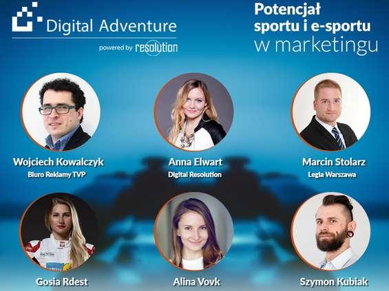 Konferencja Digital Adventure 4: Potencjał sportu i e-sportu w marketingu już 10 lipca