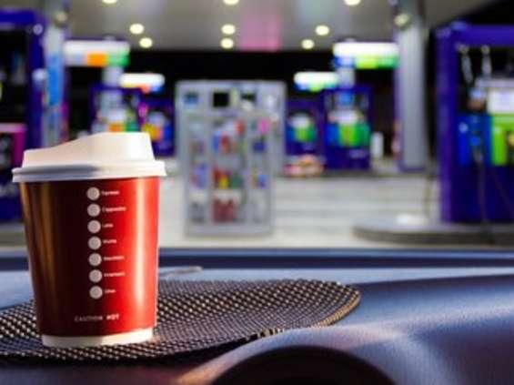 Gdzie na kawę? Na stację benzynową!