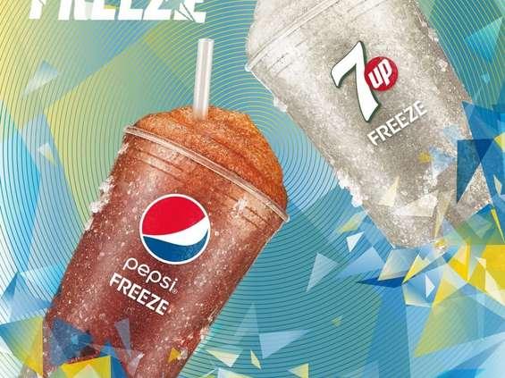 Pepsi Freeze i 7Up Freeze: nowe mrożone napoje gazowane