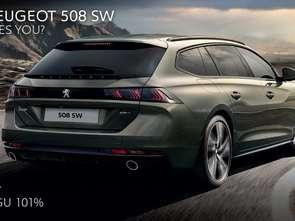 Peugeot reklamuje model 508 SW [wideo]
