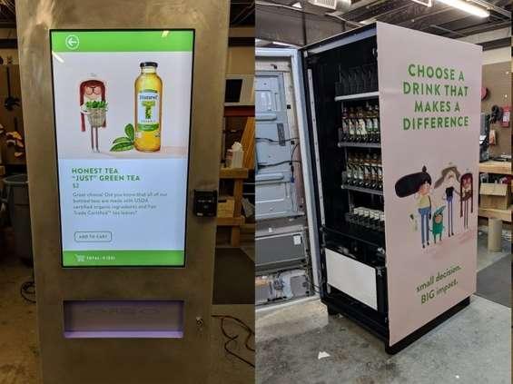 Automaty vendingowe Honest Tea wspomogą organizacje non-profit [wideo]