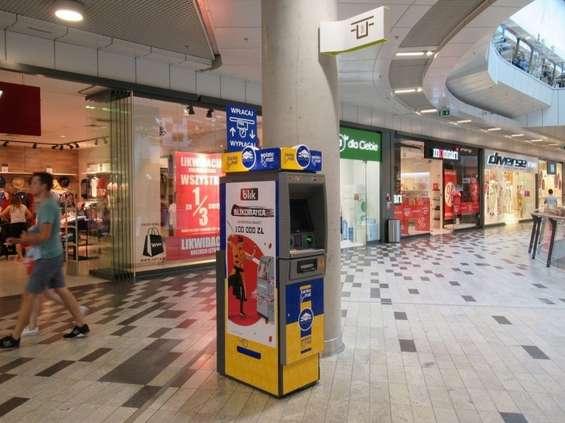 Blik reklamuje się na bankomatach Euronetu