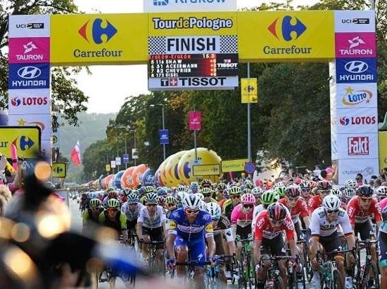 """Carrefour chce promować """"zdrową półkę"""" na Tour De Pologne"""