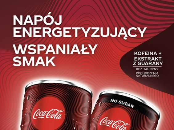 Coca-Cola Energy już w sieci Żabka
