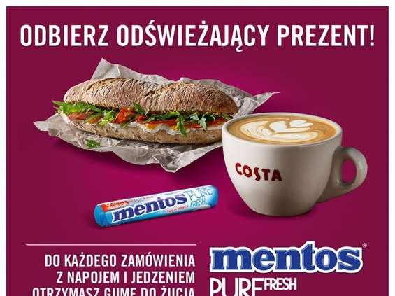 Sampling Mentosa w kawiarniach Costa Coffee